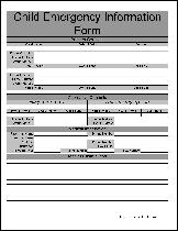 graphic about Babysitter Forms Printable Free named Totally free Babysitting Types